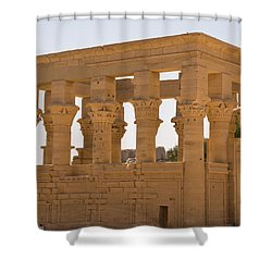 Old Structure 3 Shower Curtain by James Gay