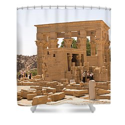 Old Structure Shower Curtain by James Gay