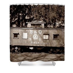 Shower Curtain featuring the photograph Old Timer by Sara  Raber
