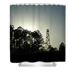 Old Tower Shower Curtain