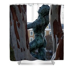 Old Town Alexandria - Brio 2 Shower Curtain by Richard Reeve
