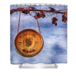 Verde Valley Wine Trail Shower Curtain by Priscilla Burgers