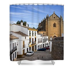 Old Town Of Ronda Shower Curtain by Artur Bogacki