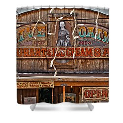 Old Town Saloon Shower Curtain