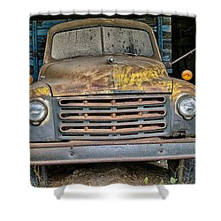 Old Truck Shower Curtain