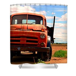 Old Truck Shower Curtain by Matt Harang