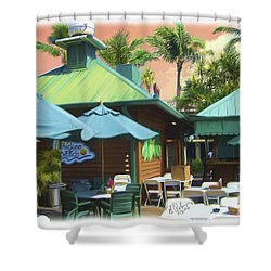 Old Vanderbilt Inn Shower Curtain by Gerry Robins