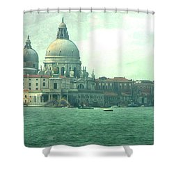 Shower Curtain featuring the photograph Old Venice by Brian Reaves