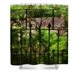 Old Victorian Gate - Peak District - England Shower Curtain by Doc Braham
