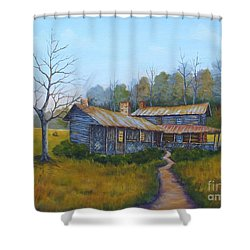 Old Walker Homestead #2 Shower Curtain