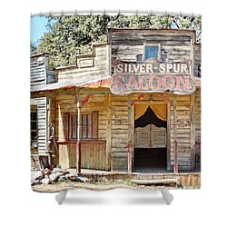 Old Western Saloon Shower Curtain