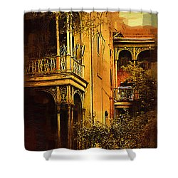 Old World Charm Shower Curtain by Kirt Tisdale