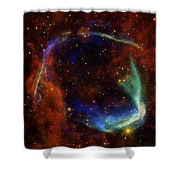 Oldest Recorded Supernova Shower Curtain by Adam Romanowicz