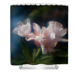 Shower Curtain featuring the photograph Oleander 1 by Travis Burgess
