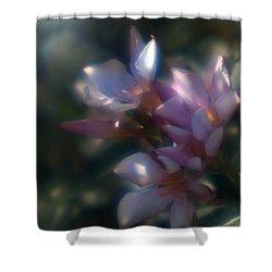 Oleander 2 Shower Curtain by Travis Burgess