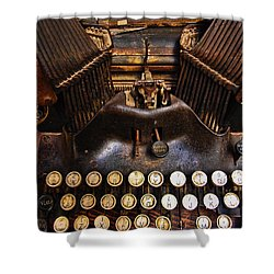 Oliver Shower Curtain by Skip Hunt