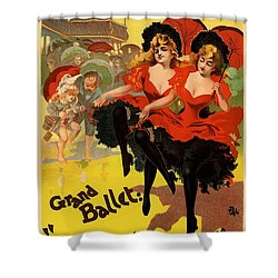 Olympia Grand Ballet Brighton Shower Curtain by Gianfranco Weiss
