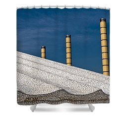 Olympic Columns Shower Curtain