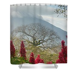 Shower Curtain featuring the photograph Ometepe Island 1 by Rudi Prott