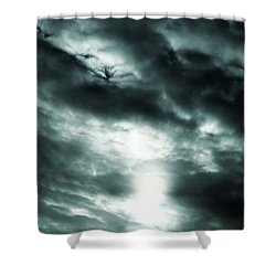 Ominous Skies Shower Curtain