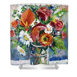 On Board Infinity Shower Curtain