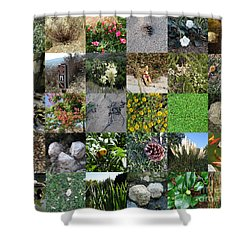 On Nature's Trail Shower Curtain by Bedros Awak