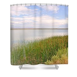 On Shore Shower Curtain