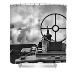 On Target Shower Curtain by Douglas Barnard