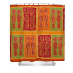 On The Beach Shower Curtain by Patrick J Murphy