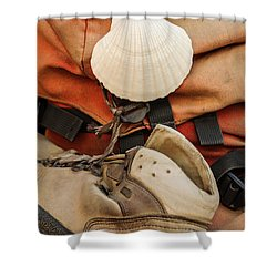 On The Camino De Santiago Shower Curtain