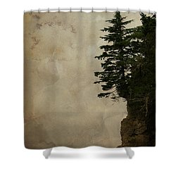 On The Edge Shower Curtain