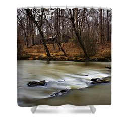 On The Eno River Shower Curtain