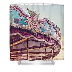 On The Piazza Shower Curtain