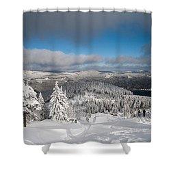on the Wurmberg II Shower Curtain