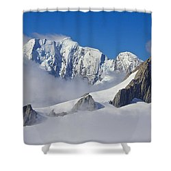 On Top Of The World Shower Curtain by Venetia Featherstone-Witty