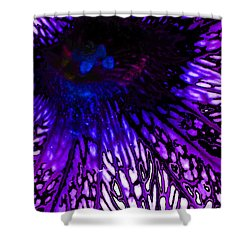 On Wings Of Veins Shower Curtain