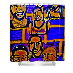Once A Laker... Shower Curtain by Tony B Conscious