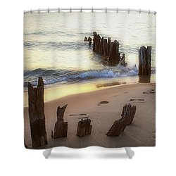 Once Upon A Time Shower Curtain by Randy Pollard