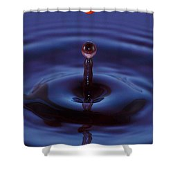One Drop One Splash Shower Curtain
