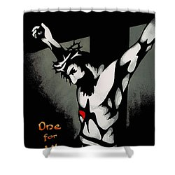 One For All Shower Curtain