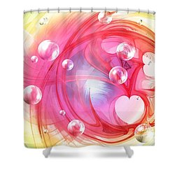 One Love... One Heart... One Life Shower Curtain