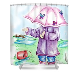 One More Drop Shower Curtain