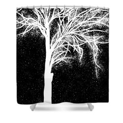 One More Tree Shower Curtain