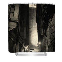 One Of The Few Shower Curtain by Taylan Apukovska