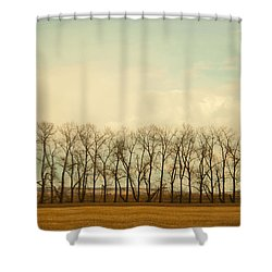 One Season Shower Curtain