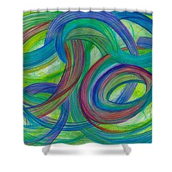 One Stupendous Whole-horizontal Shower Curtain