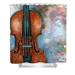 One Voice In The Cosmic Fugue Shower Curtain