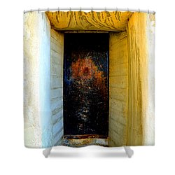 One Way Shower Curtain by Lauren Leigh Hunter Fine Art Photography