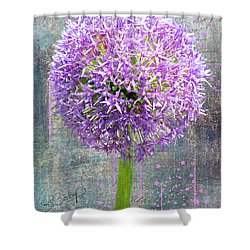 Onion Shower Curtain by Larry Bishop