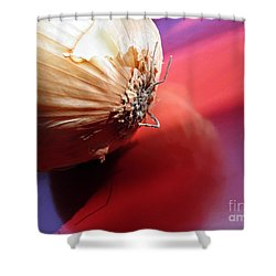 Onion Shower Curtain by Sarah Loft